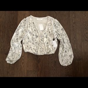 NWT ASTR Floral Top